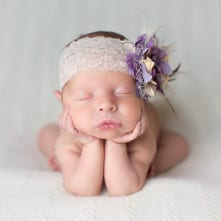 Temecula Newborn Photographer Gretchen Barros Photography Propped up