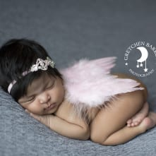 Pink Angel Temecula Baby Photographer Gretchen Barros Photography